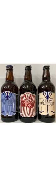 Mixed Case 12 x 500ml bottles City Of Cambridge Ales