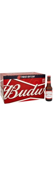 Budweiser Lager 24x330ml Bottles