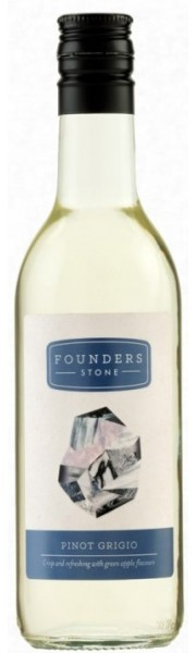 Pinot Grigio Founders Stone  Moldova  18.75cl   (  Quarter Bottle )