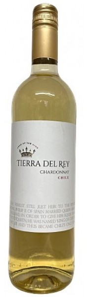 Chardonnay Central Valley  Chile  Tierra del Rey