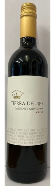 Cabernet Sauvignon Central Valley  Chile  Tierra del Rey