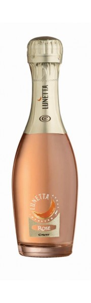 Lunetta Spumante Brut Rose 20cl (Quarter Bottle )
