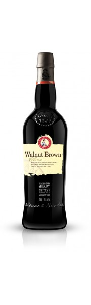 Walnut Brown Sherry Williams and Humbert 75cl
