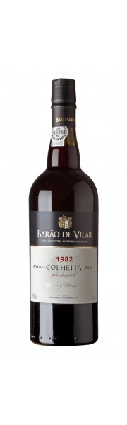 1982 Colheita Port Barao De Vilar Portugal 75cl In Wooden Gift Box