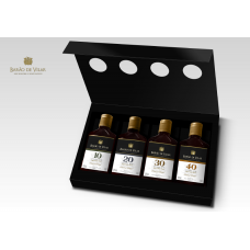 Century of Port 4 x 20cl bottles Tawny Port in Presentation Box  Barao de Vilar