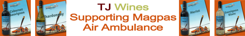 TJ Wines Supporting Magpas