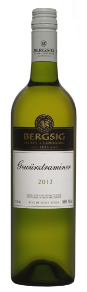 Gewurztraminer  Bersig Estate  South Africa