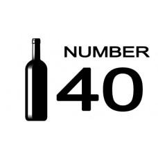 No. 40 MALBEC VISTA SIERRA   MENDOZA   ARGENTINA    2018