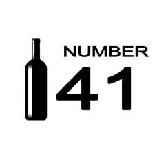 No. 41 SHIRAZ  RUNNING DUCK      FAIRTRADE / FAIR FOR LIFE  SOUTH AFRICA 2017