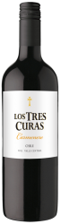 Carmenere Los Tres Curas Central Valley Chile 6 x 75cl. Special offer for 6 bottles available until 31st August 2017. This offer equates to 1 bottle free with every 5 bottles purchased.